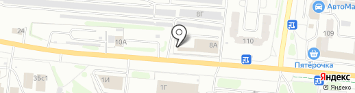 Треанова на карте Иваново