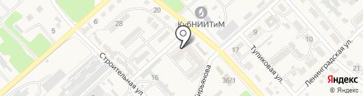 Валерия на карте Новокубанска