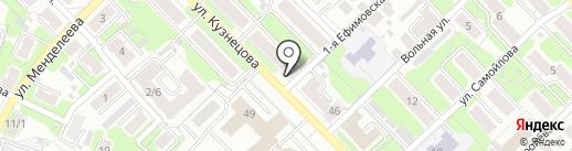 Чудо Пекарь на карте Иваново