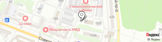 ИСТКОМ на карте Костромы