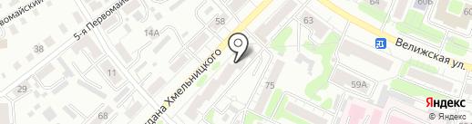 Тайм на карте Иваново