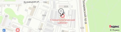 Синяя птица на карте Костромы