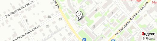 Гранитный Век на карте Иваново
