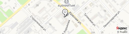 Магазин бытовой техники на карте Новокубанска