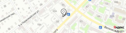 Магнит на карте Иваново
