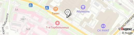 Хронометр-Иваново на карте Иваново