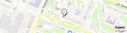 Мелкстрой на карте Иваново