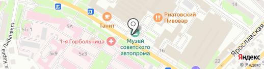Музей советского автопрома на карте Иваново