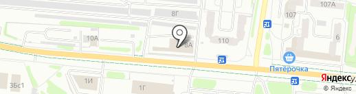 ТК Мегаполис на карте Иваново