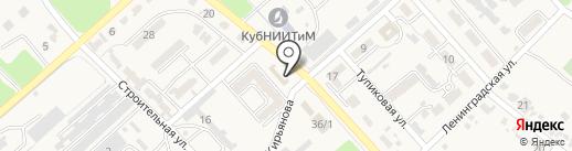 Магазин одежды на карте Новокубанска