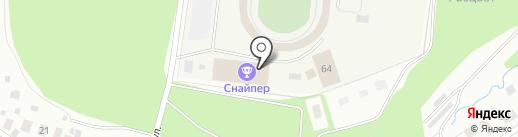 Динамо на карте Костромы