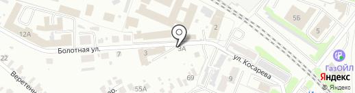 Хуторок на карте Иваново