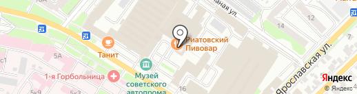 РИАТОВСКИЙ ПИВОВАР на карте Иваново