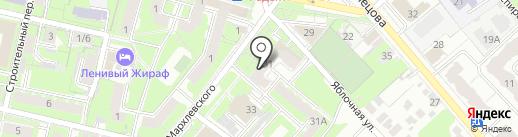 Нотариус Рождественская А.Ю. на карте Иваново