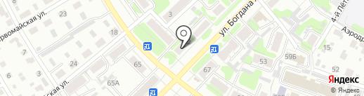 Фармация, МУП на карте Иваново