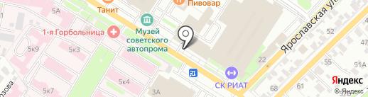 Мастерская по ремонту обуви и сумок на карте Иваново