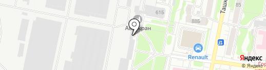 Банкомат, АКБ Кранбанк, ЗАО на карте Иваново