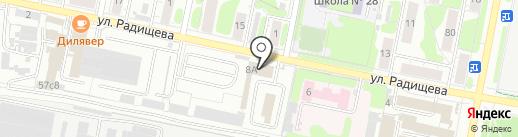 «Техснабжение» на карте Иваново