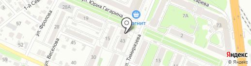 Карусель плюс на карте Иваново