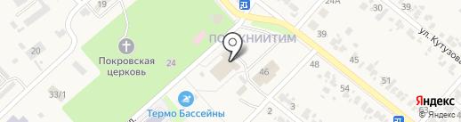 Банкомат, Россельхозбанк на карте Новокубанска