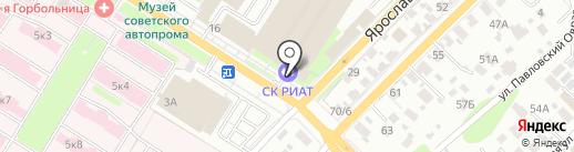 Спорт, FM 105.4 на карте Иваново