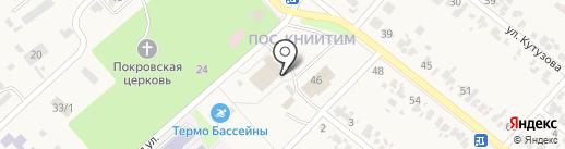 Городская центральная библиотека на карте Новокубанска