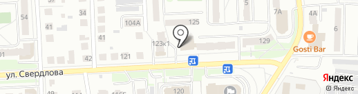 Алоэ на карте Костромы