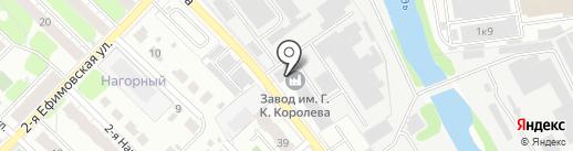 Завод им. Г.К. Королева на карте Иваново