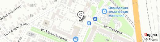 Мариа на карте Иваново