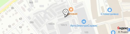 Бета-Строй на карте Костромы