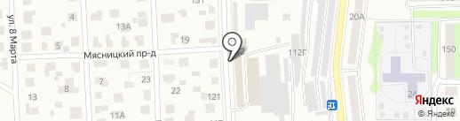 МнеПотолок на карте Костромы