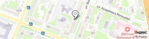 Скиф на карте Иваново