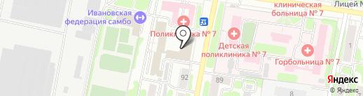 Кодекс на карте Иваново