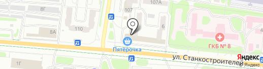 Здоровье-NSP на карте Иваново