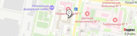 ТрансМосБетон на карте Иваново