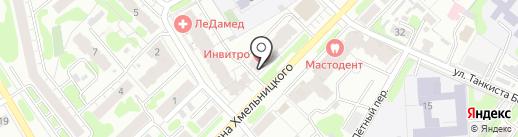 Развитие на карте Иваново