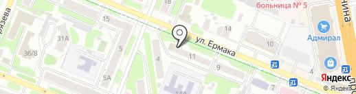 Курочка на карте Иваново