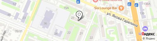 Продовольственный магазин на ул. Войкова на карте Иваново