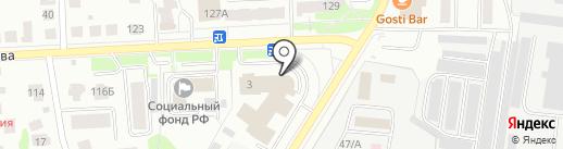 Костромской областной суд на карте Костромы