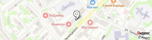MIX на карте Иваново