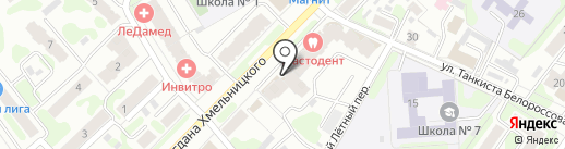 Город Знаний на карте Иваново