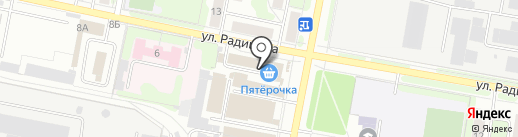Эликс на карте Иваново