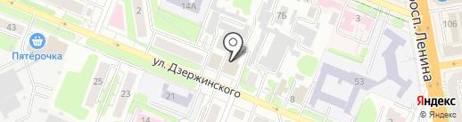Волжанка на карте Иваново