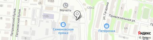 МШФ на карте Костромы