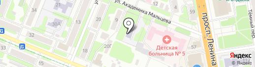 Детский сад №146 на карте Иваново