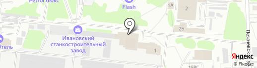 Новатех на карте Иваново