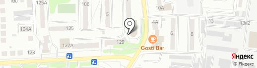 Десяточка на карте Костромы