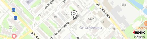 21 ВЕК на карте Иваново