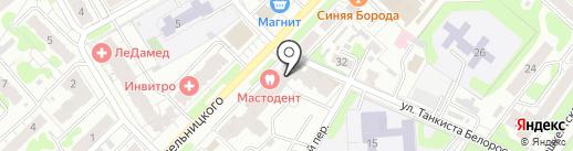 Гор на карте Иваново