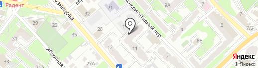 Жилищно-сервисная служба на карте Иваново